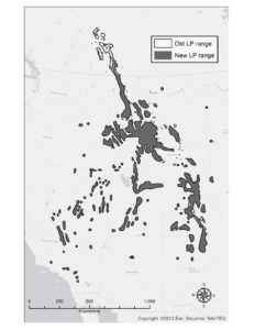 Fig 2 - Limber Pine Range